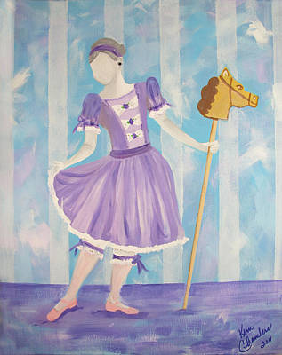 Painting - Carousel Pony by Kim Chambers