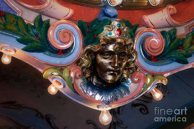 Glen Echo Park Photograph - Carousel Princess by Susan Isakson
