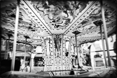 Photograph - Carousel by Silvia Ganora