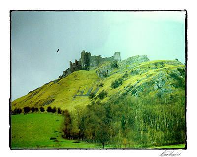 Photograph - Carreg Cennen Castle by Diana Haronis