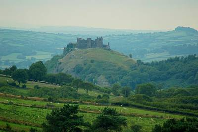Photograph - Carreg Cennen Castle by Tam Ryan