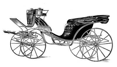 Carriage: Victoria Art Print by Granger