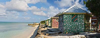 Grand Turk Island Photograph - Carribean Style Panorama by Jim Chamberlain