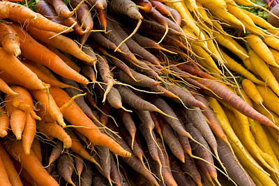 Photograph - Carrots by Michael Friedman