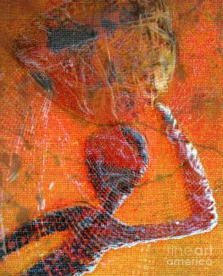 Faniart Africa America Mixed Media - Carry On by Fania Simon