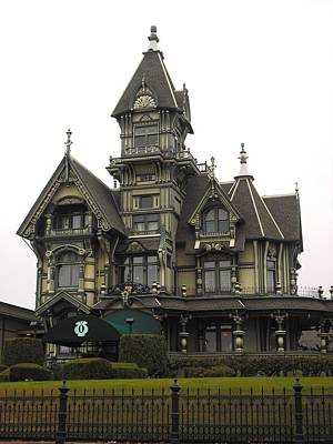Photograph - Carson Mansion Eureka by Kelly Manning