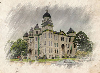 Photograph - Carthage Courthouse by Ricky Barnard