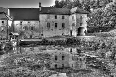 Castle Photograph - Carthusian Monastery Bistra by Ivan Slosar