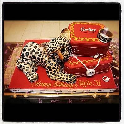 Cartier#webstagram #follow #riyadh Art Print