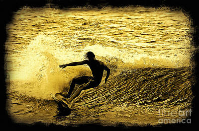 Action Sports Art Digital Art - Carve by Paul Topp
