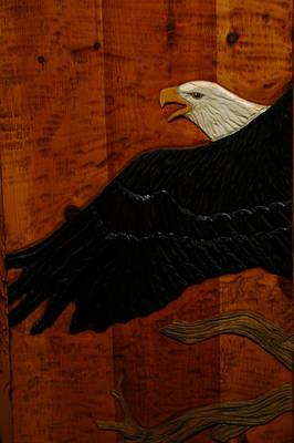 Eagle Photograph - Carved Eagle by LeeAnn McLaneGoetz McLaneGoetzStudioLLCcom