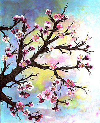 Carved In A Cherry Tree I I Art Print by Barbara Griffin