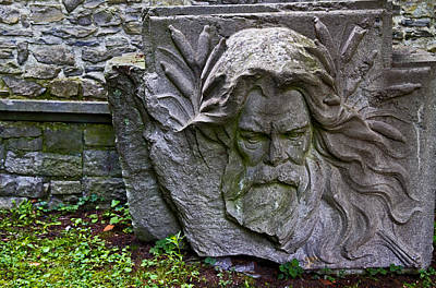 Photograph - Carved Stone by David Freuthal