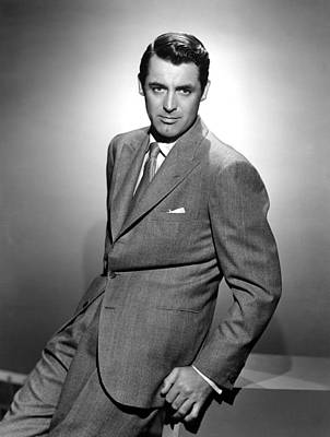 Cary Grant, Ca. 1940s Print by Everett
