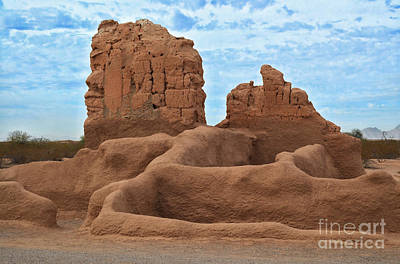 Photograph - Casa Grande Ruins by Donna Greene