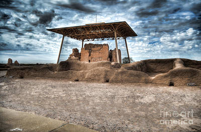 Photograph - Casa Grande Ruins I by Donna Greene