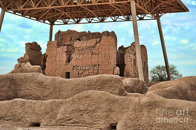Photograph - Casa Grande Ruins II by Donna Greene