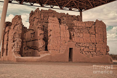Photograph - Casa Grande Ruins IIi by Donna Greene