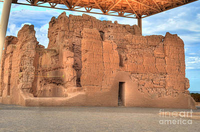 Photograph - Casa Grande Ruins V by Donna Greene