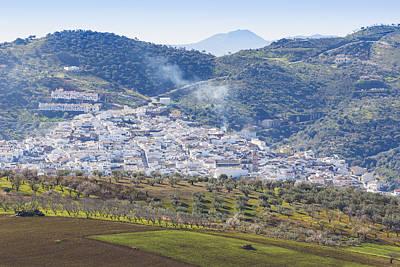 Casabermeja. White Village, Southern Spain. Art Print by Ken Welsh