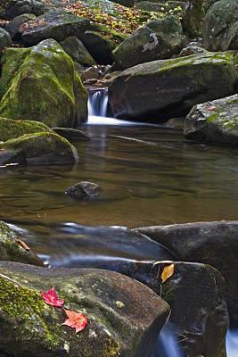 Saluda Photograph - Cascade At Jones Gap by Rob Travis