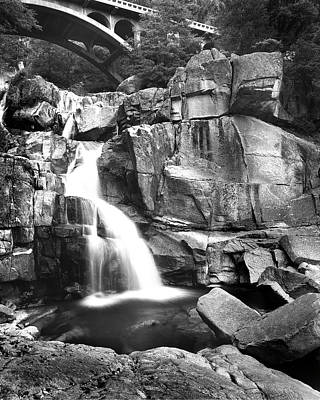 Photograph - Cascade Creek And Bridge by Joe  Palermo