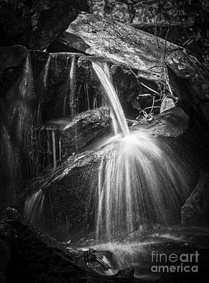 Photograph - Cascade Detail by David Waldrop