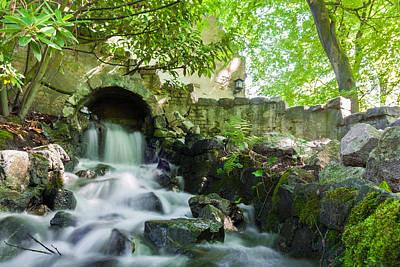 Photograph - Cascade Falls by Semmick Photo