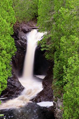 Photograph - Cascade Falls by Steve Stuller
