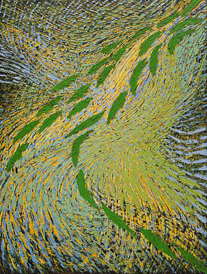 Painting - Cascade by Hermann Lederle