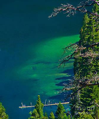 Cascade Lake Inlet Delta Art Print