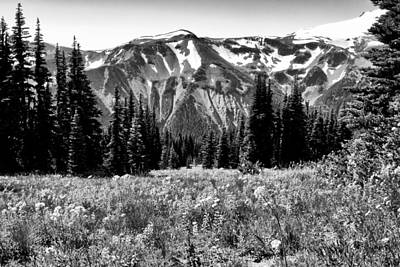 Photograph - Cascade Mountain Range by David Patterson