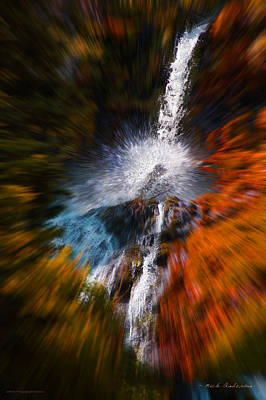 Art Print featuring the photograph Cascade Waterfall by Mick Anderson