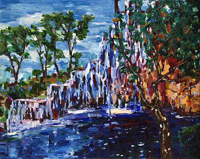 Painting - Cascade by Yelena Rubin