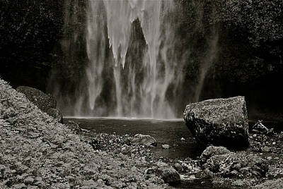 Photograph - Cascade's End by Eric Tressler