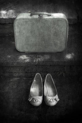Case And Shoes Art Print by Joana Kruse