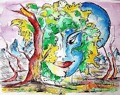 Casiopea Art Print by Natasa Dobrosavljev