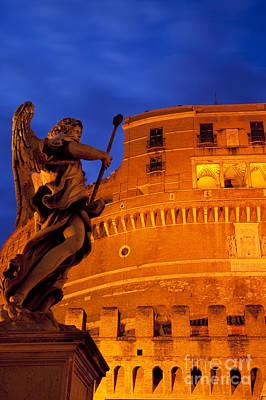 Photograph - Castel Sant Angelo by Brian Jannsen