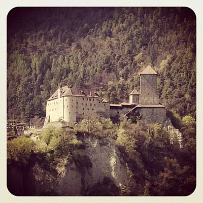 Mountain Photograph - Castel Tirolo by Luisa Azzolini