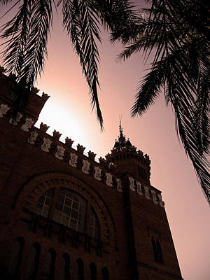 Print featuring the photograph Castell Dels Tres Dragons - Barcelona by Juergen Weiss