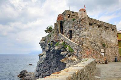 Genoa Photograph - Castello Della Dragonara In Camogli by Joana Kruse