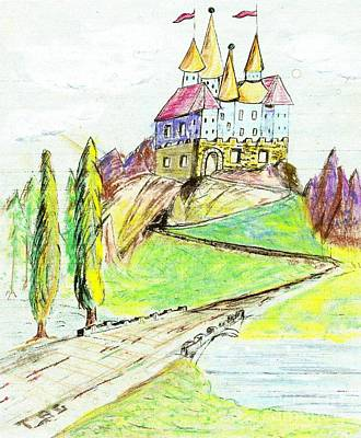 Castile Castle Art Print