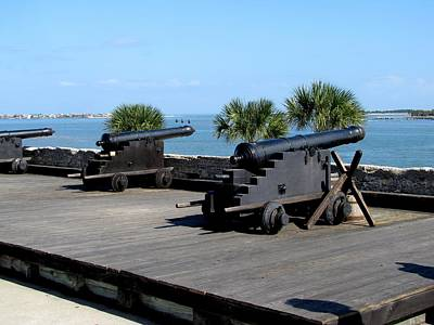Photograph - Castillo De San Marcos National Monument by Keith Stokes
