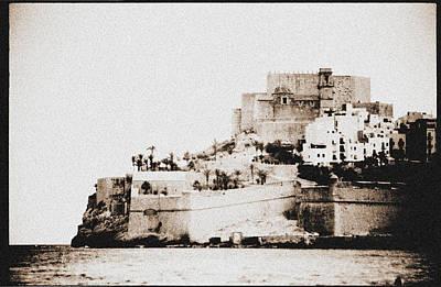 Castillo Del Papa Luna Peniscola Spain Original by Hans English