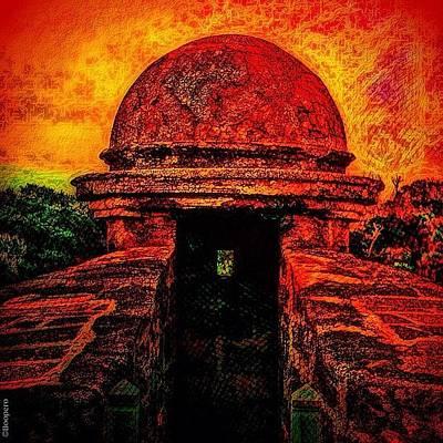 Castillo Turret - Ready For Mayan Art Print