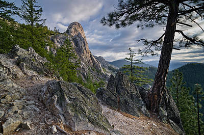 Photograph - Castle Crags Morning by Greg Nyquist