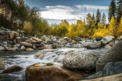 Art Print featuring the photograph Castle Creek by Randy Wood