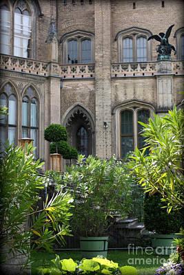Photograph - Castle Garden Courtyard by Carol Groenen