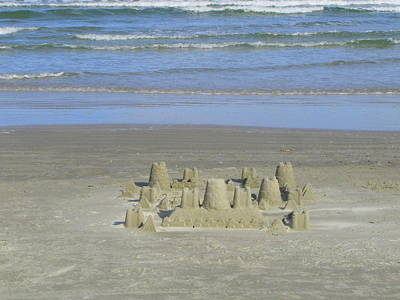 Photograph - Castle In The Sand by RobLew Photography