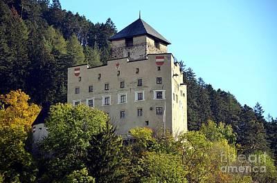 Castle Landeck In Austria Art Print